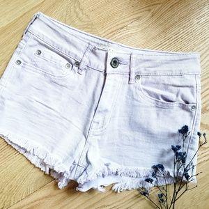 Lavender 🌿 Denim Shorts